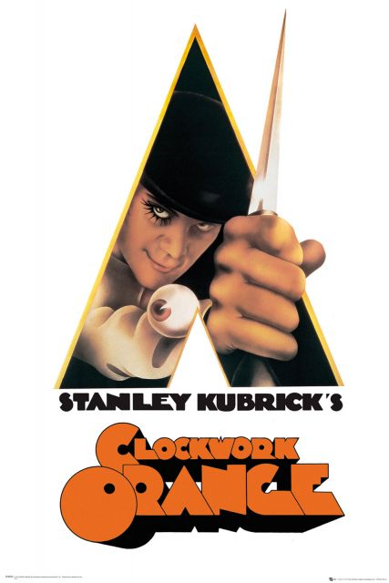 Clockwork Orange - plakat