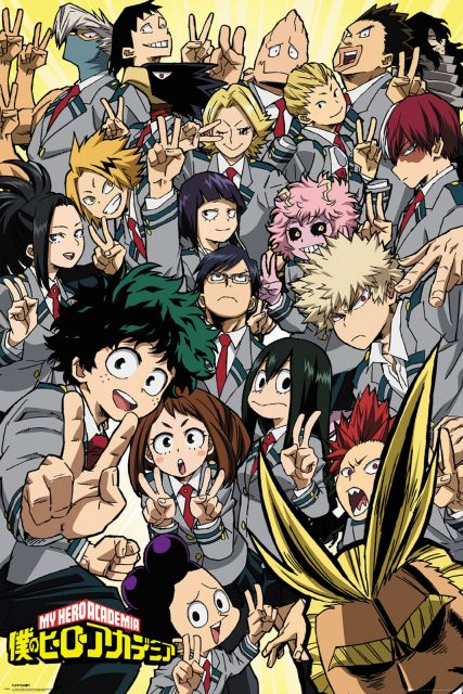 My Hero Academia School Compilation - plakat