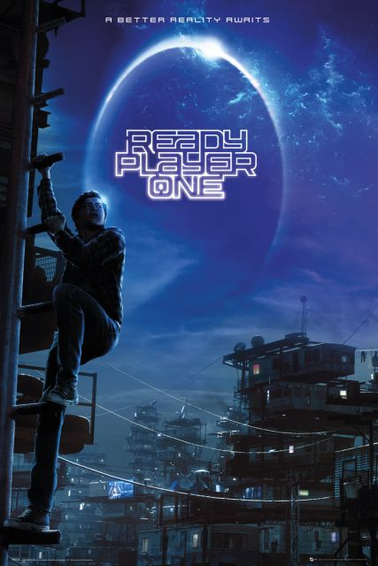 Ready Player One - plakat filmowy