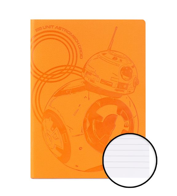 Star Wars BB-8 - notes A5