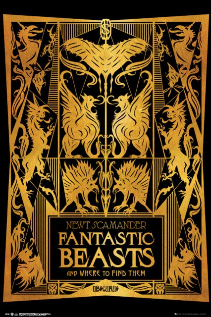 Plakat Fantastic Beasts 2 Book Cover