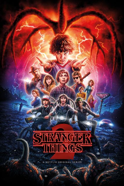 Stranger Things 2 Sezon - plakat 61x91,5 cm