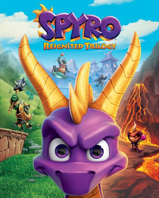 Spyro Game Cover Art - plakat