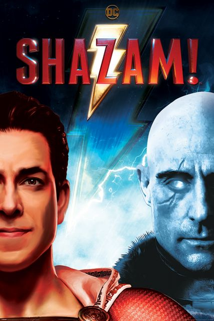 Shazam Good vs Evil - plakat