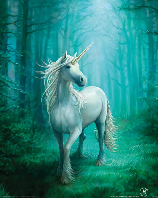 Forest Unicorn - plakat