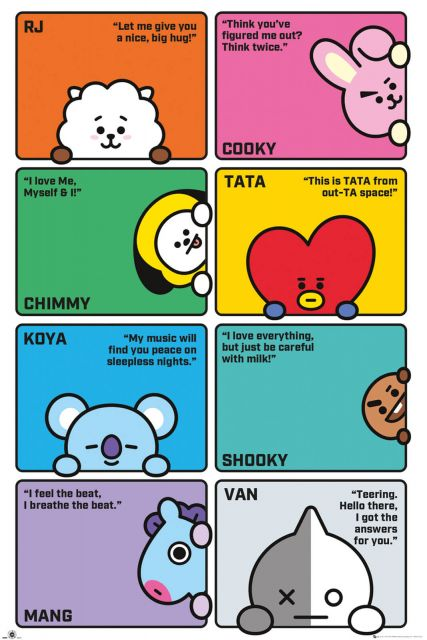 BT21 Compilation - plakat
