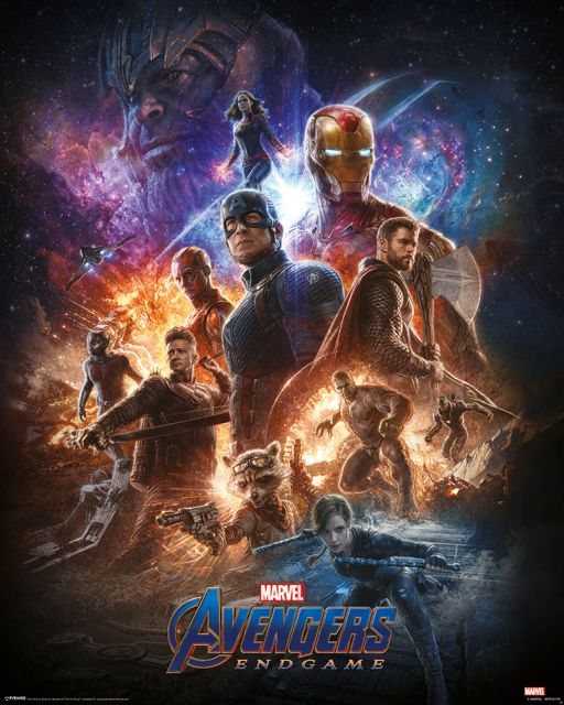 Avengers: Endgame From the Ashes - plakat