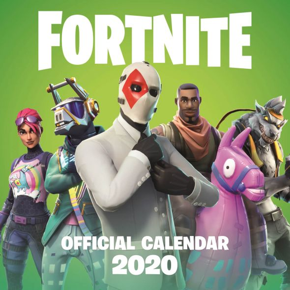 Fortnite - kalendarz 2020