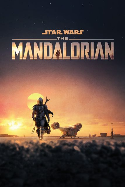 Star Wars: The Mandalorian Dusk - plakat