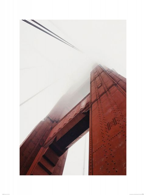 Golden Gate we mgle - reprodukcja