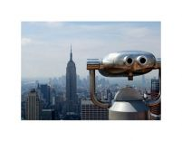 Observation deck in Manhattan - reprodukcja
