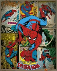Marvel Comics - Spider-man Retro - plakat
