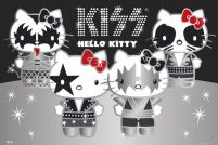Hello Kitty Kiss Group - No Germany - plakat