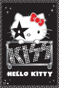 Hello Kitty Kiss Tour - No Germany - plakat
