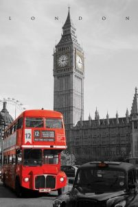 London Westminster - plakat 61x91,5 cm