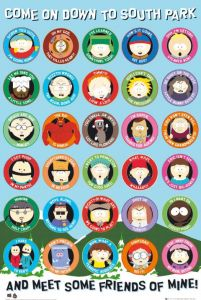 South Park Quotes - plakat