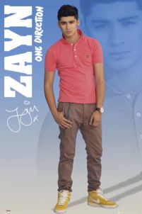 One Direction Zayn 2012 - plakat