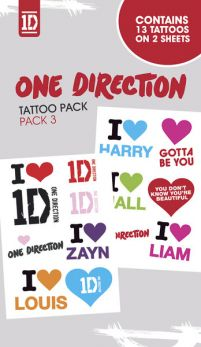 One Direction Pack 3 - tatuaż