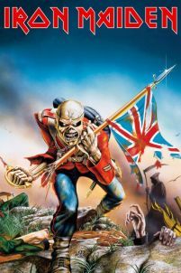 Iron Maiden Trooper - plakat