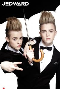 Jedward Umbrella - plakat