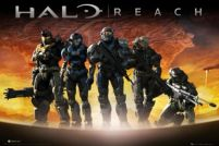 Halo Reach Planet - plakat