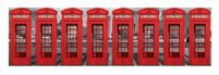 London Phoneboxes - reprodukcja