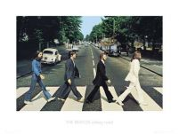 The Beatles Abbey Road - reprodukcja 60x80 cm