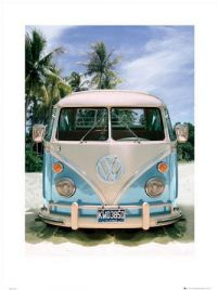 Vw Californian Camper Beach - reprodukcja