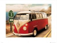 Vw Californian Camper Route One - reprodukcja