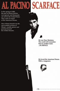 Scarface (Movie) - plakat