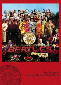 plakat Sgt. Pepper's Lonely Hearts Club Band z The Beatles