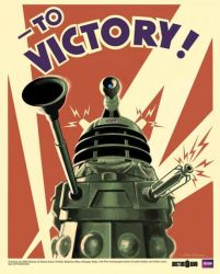 plakat z Doctor Who (To Victory)