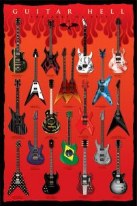 Guitar Hell (The Axes Of Evil) - plakat