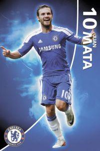 5e0bcd3f518d Chelsea F.C. Juan Mata 2011 2012 - plakat