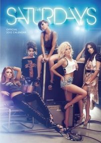 The Saturdays - kalendarz 2012 r.