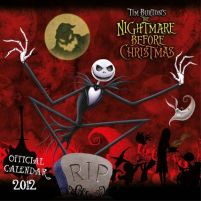 Nightmare Before Christmas - kalendarz 2012 r.