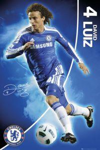 d05e35a98f0b Chelsea Londyn David Luiz 11 12 - plakat