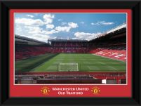 Manchester United Old Trafford Red Border - obraz w ramie