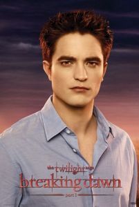 Zmierzch - Twilight Breaking Dawn - Edward - plakat