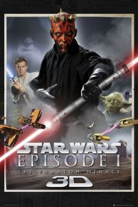 Star Wars Episode One - plakat