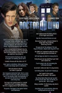 plakat z serialu Doctor Who