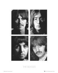 The Beatles White Album - reprodukcja 40x50 cm