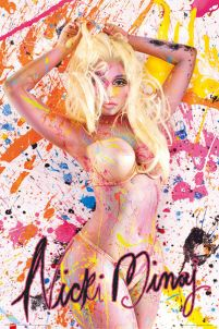 Nicki Minaj Paint - plakat