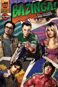 The Big Bang Theory (Comic) - plakat 40x50 cm
