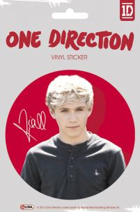 One Direction Niall Colour - naklejka