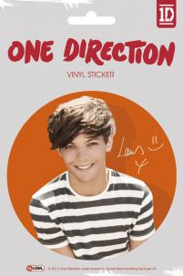 One Direction Louis Colour - naklejka