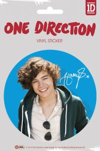 One Direction Harry Colour - naklejka