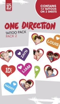 One Direction Pack 2 - tatuaż