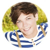 One Direction Louis - przypinka