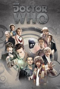 plakat z Doctor Who (Doctors Through Time)